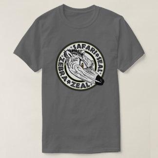 The Safari Seal Zebra Zeal T-Shirt