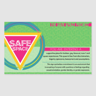 The Safe Space Project Sticker