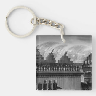 The Sage Gateshead Keychain/Keyring Single-Sided Square Acrylic Keychain