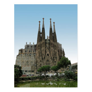 The Sagrada Familia, Barcelona, Spain Postcard