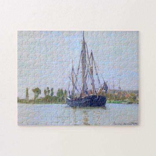 The Sailing Boat Monet Fine Art Jigsaw Puzzle