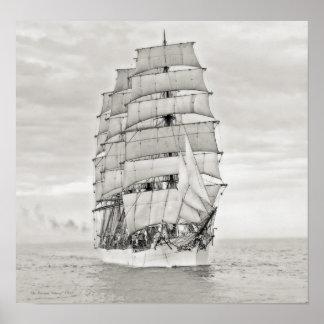 """The Sailing Ship """"Viking"""" Poster"""
