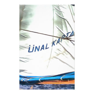 The Sails Of Unal Kaptan Stationery