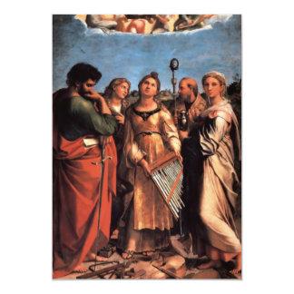 the Saint Cecilia Altarpiece Card