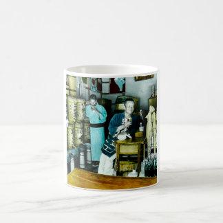 The Sake Merchants of Old Japan Vintage Hand Tint Coffee Mug
