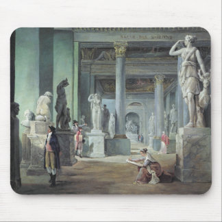 The Salle des Saisons at the Louvre, c. 1802 Mouse Pad