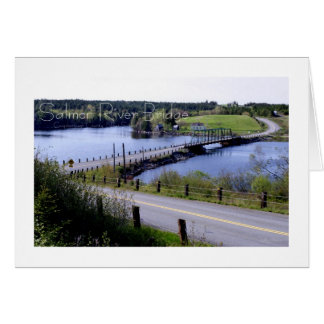 The Salmon River Bridge Card