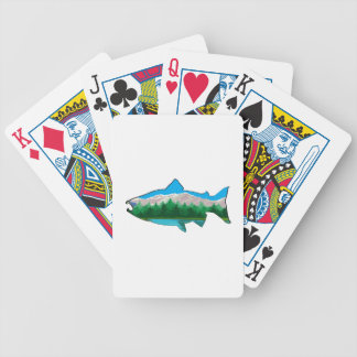 THE SALMON RUN BICYCLE PLAYING CARDS