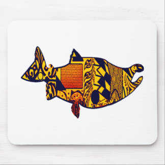 THE SALMON RUN MOUSE PAD