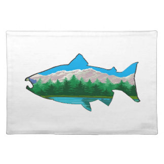 THE SALMON RUN PLACEMAT