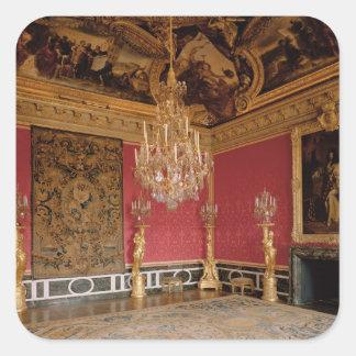 The Salon d'Apollon (Apollo Room) with tapestries Stickers