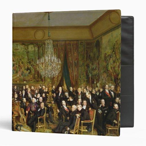 The Salon of Alfred Emilien, Comte de Vinyl Binders