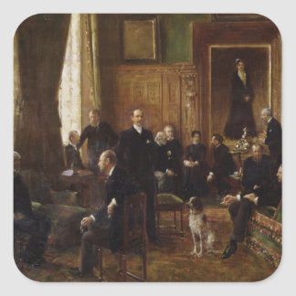 The Salon of the Countess Potocka, 1887 Stickers