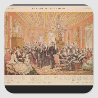 The Salon of Victor Hugo Stickers