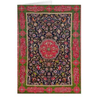 The Salting Carpet, c.1588-98 Card