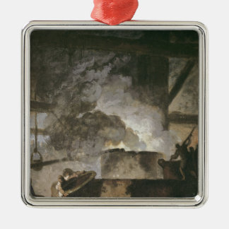 The Saltpetre Works Silver-Colored Square Ornament