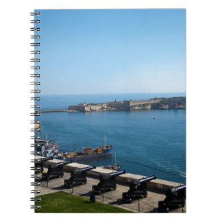 The Saluting Battery Notebook