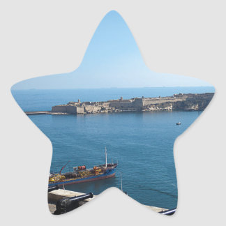 The Saluting Battery Star Sticker