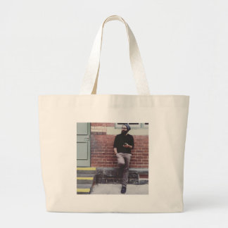 The Same Photo of David Eynaud Every Day Large Tote Bag