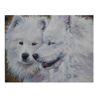 """The Samoyed Conversation"" Postcard"