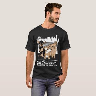 The San Francisco Chihuahua Meetup Regular. Logo T-Shirt