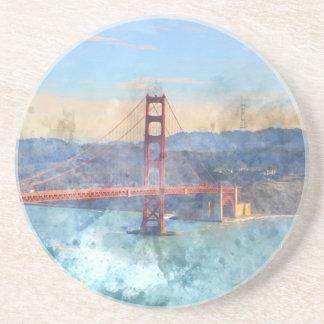 The San Francisco Golden Gate Bridge in California Coasters