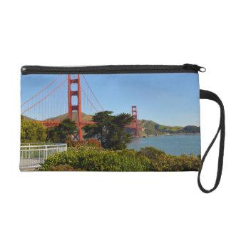 The San Francisco Golden Gate Bridge in California Wristlet Purse