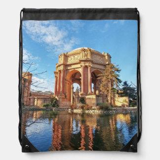 The San Fransisco Palace Drawstring Bag