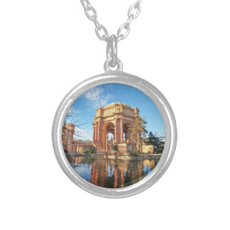The San Fransisco Palace Silver Plated Necklace