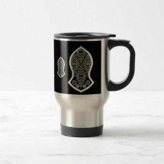 The Sandal Of The Prophet (Henna) (White) Mugs