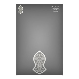 The Sandal Of The Prophet (White) Customized Stationery