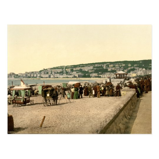 The Sands, Weston-super-Mare, Somerset, England Postcard