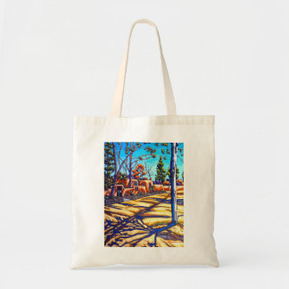 The Santa Fe Shadows Tote bag