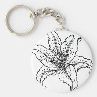 The Saskatchewan Lily project Keychain