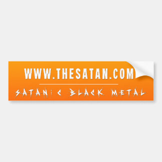 The Satan Records - TSR Bumper Sticker 1