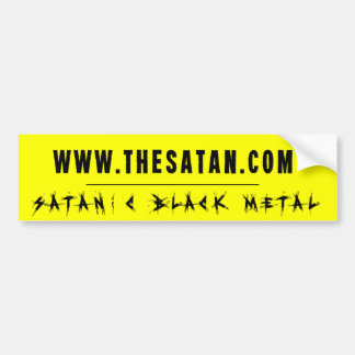 The Satan Records - TSR Bumper Sticker 3