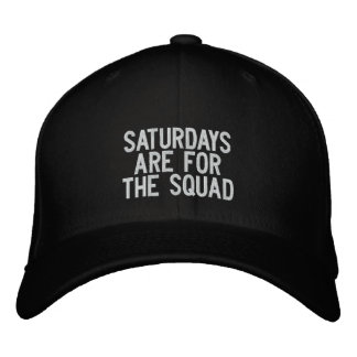 The Saturday Squad Embroidered Hat