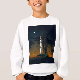 The Saturn V space rocket NASA Sweatshirt