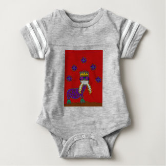 The Saurian Patriarch Baby Bodysuit