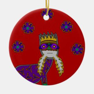 The Saurian Patriarch Ceramic Ornament