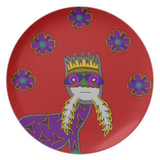 The Saurian Patriarch Plate