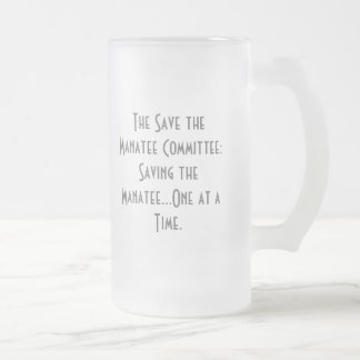 The Save the Manatee Committee Mug