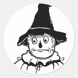 The Scarecrow Round Sticker