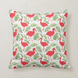 The Scarlet Ibis Throw Pillow