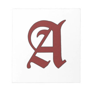 The Scarlet Letter Notepads