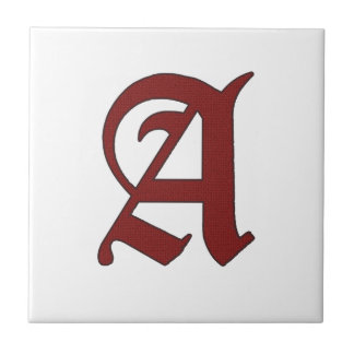 The Scarlet Letter Tile