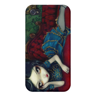 """The Scarlet Sofa"" iPhone 4 Case"