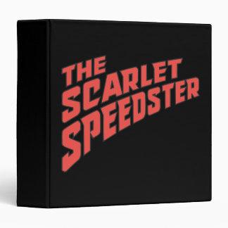 The Scarlet Speedster Logo Binders