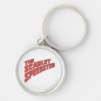 The Scarlet Speedster Logo Keychains