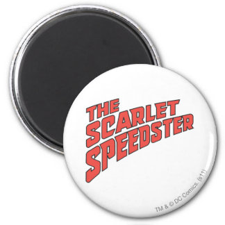 The Scarlet Speedster Logo Refrigerator Magnet